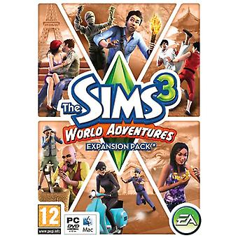 The Sims 3 World Adventures - Expansion Pack (PCMac DVD) - Uusi