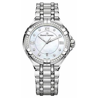 Maurice Lacroix Eliros Ladies Moonphase Mother Of Pearl Stainless Steel EL1096-SD502-170-1 Watch