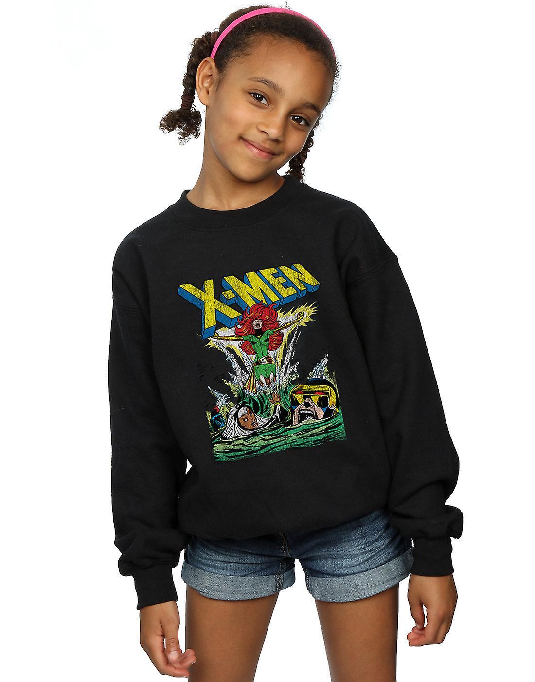 Marvel Girls X-Men Enter The Phoenix Sweatshirt