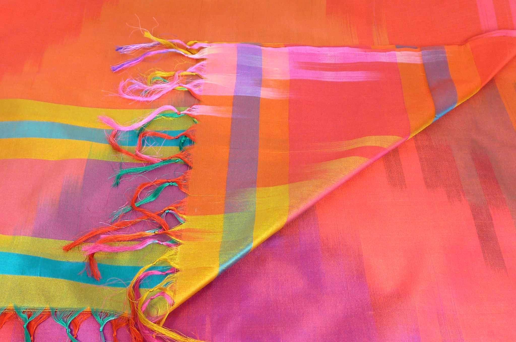 Varanasi Ekal Premium Silk Long Scarf Heritage Range Narayan 4 by Pashmina & Silk
