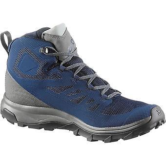 サロモンアウトラインミッドゴアテックス13 L40476400トレッキング一年男性靴