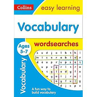Vocabulary Word Searches Ages 5-7 (Collins Easy Learning KS1) by Coll