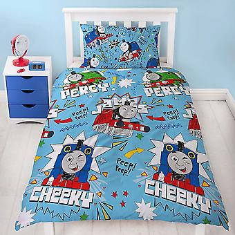 Thomas And Friends Sketchbook Single Duvet Cover Set
