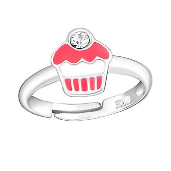 Cupcake - 925 Sterling Silver Rings - W10681x