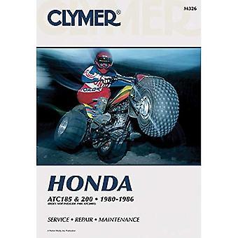 Honda ATC 185 and 200, 1980-86: Clymer Workshop Manual (Clymer All-Terrain Vehicles)