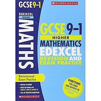 Maths Higher Revision and Exam Practice Book for Edexcel (GCSE Grades 9-1)