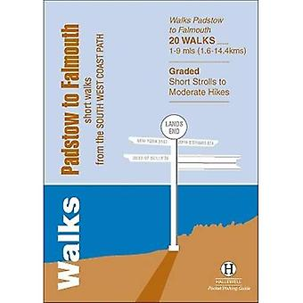 Walks Padstow to Falmouth: Short Walks from the South West Coast Path (Hallewell Pocket Walking Guides)