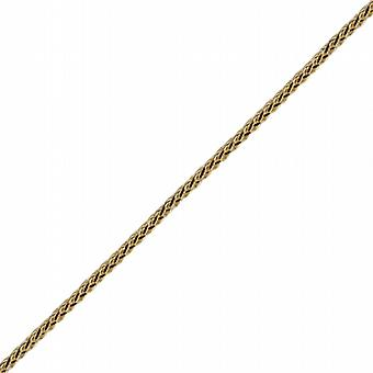 9ct Gold 1.1mm wide Spiga Chain 20 inches