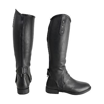 HyLAND Adults Faux Leather Diamante Gaiters