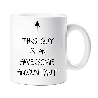 Denne fyr er en Awesome revisor krus