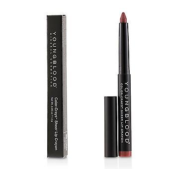 Youngblood farge Crays Matte Lip Crayon - # Coronado - 1.4g/0.05oz