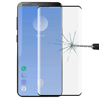 2 x 4 d full of 0.3 mm bent tempered glass black film for Samsung Galaxy S10 plus G975F 6.4 inch