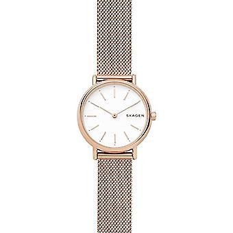Skagen dames Quartz analoge horloge met stalen band SKW2694