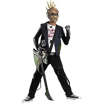 Costume enfant Punk zombie