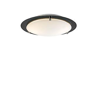 Belid - Cirklo Flush Ceiling Light LED Black Finish 219227