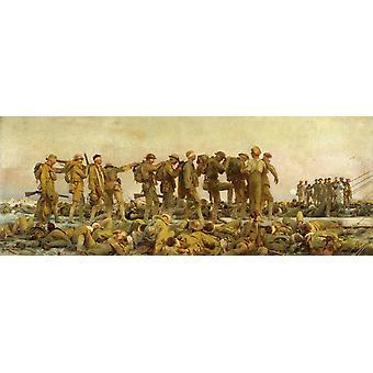 Gbaceous, ג'ון סינגר סרג'נט, 80x30 ס מ