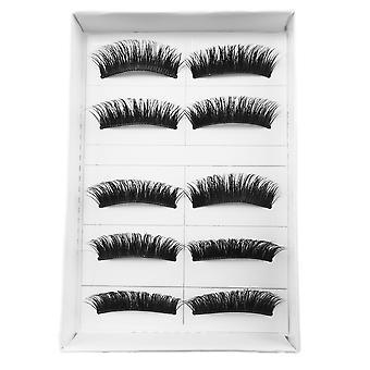 10pcs luxurious long false eyelashes-Cornelia