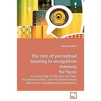 Die Rolle des wahrnehmenden Lernens in Anerkennung Gedächtnis für Gesichter von Radaelli & Stephano