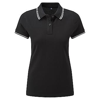 Asquith & Fox Womens/Ladies Classic Fit Tipped Polo