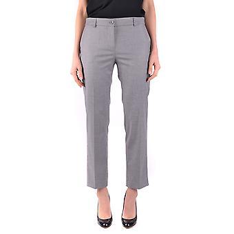 Blugirl Blumarine Ezbc103029 Pantalon en polyester gris pour femmes;s