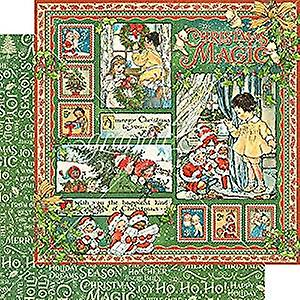 Prima Marketing Christmas Magic 12x12 Inch Paper Pack (4501726)