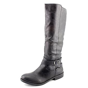 Style & Co. Womens Madixe Round Toe Knee High Riding Boots