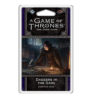 A Game of Thrones LCG Daggers in the Dark Chapter Pack Card Game