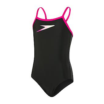 Speedo Placement Thinstrap Muscleback Swimwear For Girls