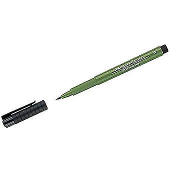 Fabel-Castell Tekenstift Pitt Artist Pen Brush 167 Perm. Olijfgroen (FC-167467)