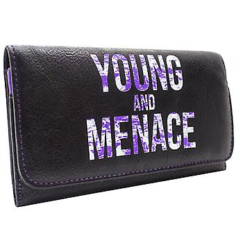 Fall Out Boy Young And Menace Coin & Card Tri-Fold Wallet