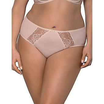 Gorsenia K358 Women's Blanca Floral Lace Knickers Panty Full Brief