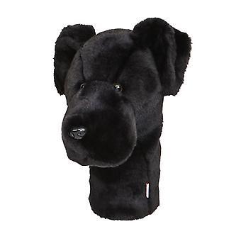 Daphnes Black Labrador Golf Driver Kopfbedeckung