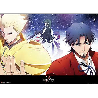 Fabric Poster - Fate/Zero - New Archer & Tokiomi Wall Scroll Licensed ge77618