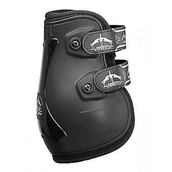 Veredus Pro Jump Velcro Rear Fetlock Boots - Black