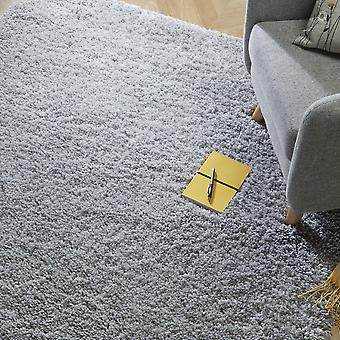 Brilliance Sparks Shaggy Rugs In Grey