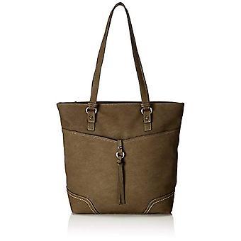 Tom Tailor 24043 Green Women's Bag (Green (khaki 35)) 11x33x38cm (B x H x T)
