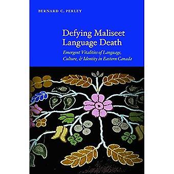 De dood van Maliseet-taal tarten