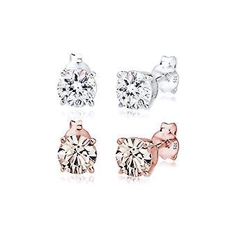 Elli Silver Women's Pin Earrings 310422517