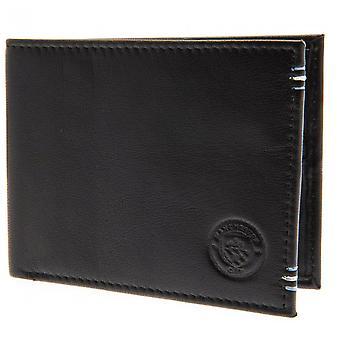 Manchester City FC læder syet tegnebog