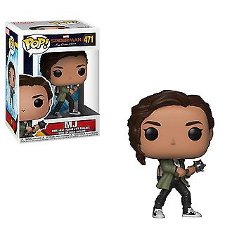Funko 39814 POP Marvel: Spider-Man Far from Home-Mary Jane