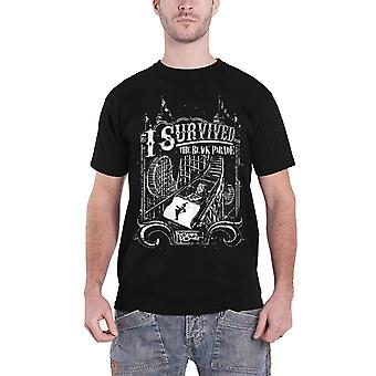 My Chemical Romance T Shirt I Survived the Black Parade new Official Mens Black