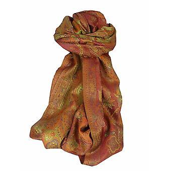 Mens Jamawar Premium Silk Scarf Modello 6849 di Pashmina & Silk