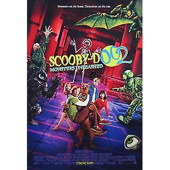 Scooby Doo 2 (Double Sided International) (2004) Original Cinema Poster