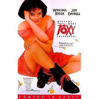 Welcome Home Roxy Carmichael (vídeo) poster original do anúncio do vídeo/DVD