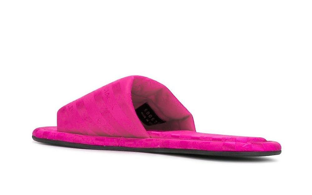 Hotel Logo Slides Sandals