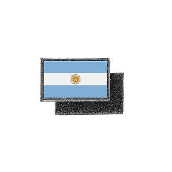 Patch écusson prenten Argentijnse vlag badge
