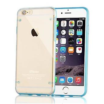 Cadorabo - Ultra Slim (0,5 mm) TPU Silikon skyddsfodral för > Apple iPhone 6 / iPhone 6S < - Case Cover Skyddsfodral Bumper i KING BLUE