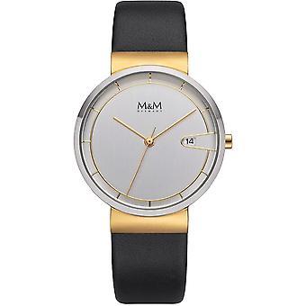 M & M Germany M11953-462 Date Ladies Watch