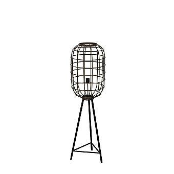 ضوء & المعيشة الطابق مصباح Ø35، 5 × 125 سم تاح متعقد من البرونز الأسود القديم
