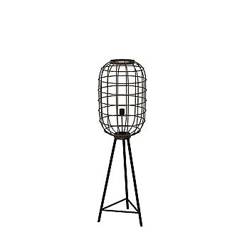 Light & Living Floor Lamp Ø35,5x125 Cm TOAH Old Bronze-matted Black